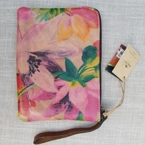 Patricia Nash Floral Wristlet Wallet